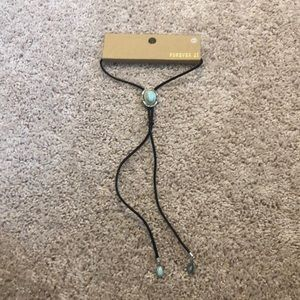 Forever 21 Turquoise Choker Necklace NWT
